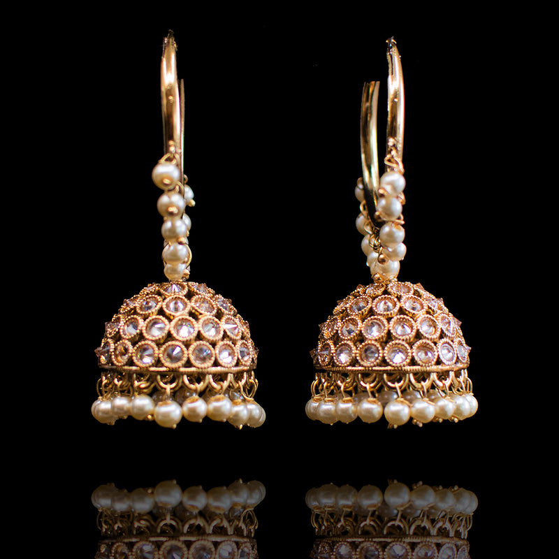 Nidhi Earrings - Available in 2 Sizes