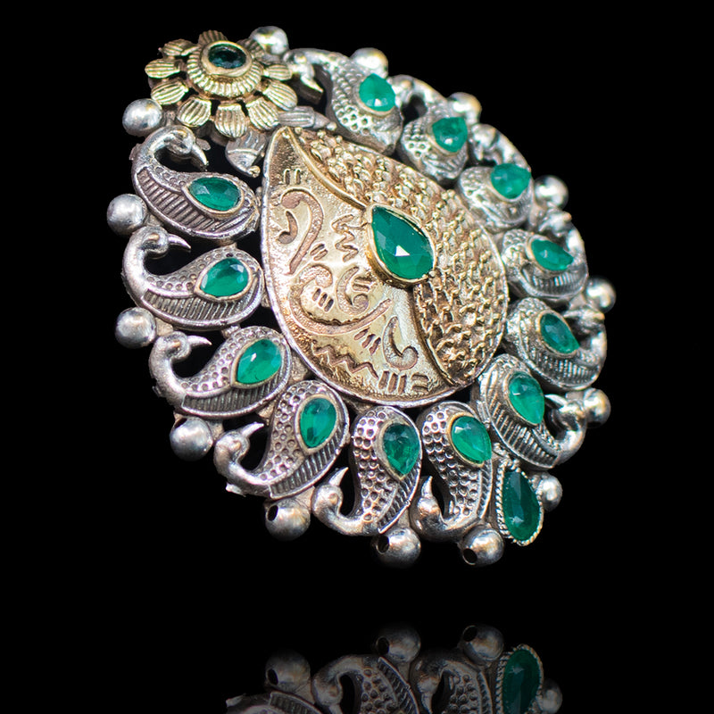 Aami Ring - Emerald