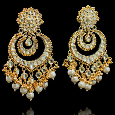Fiya Earrings - Pearl