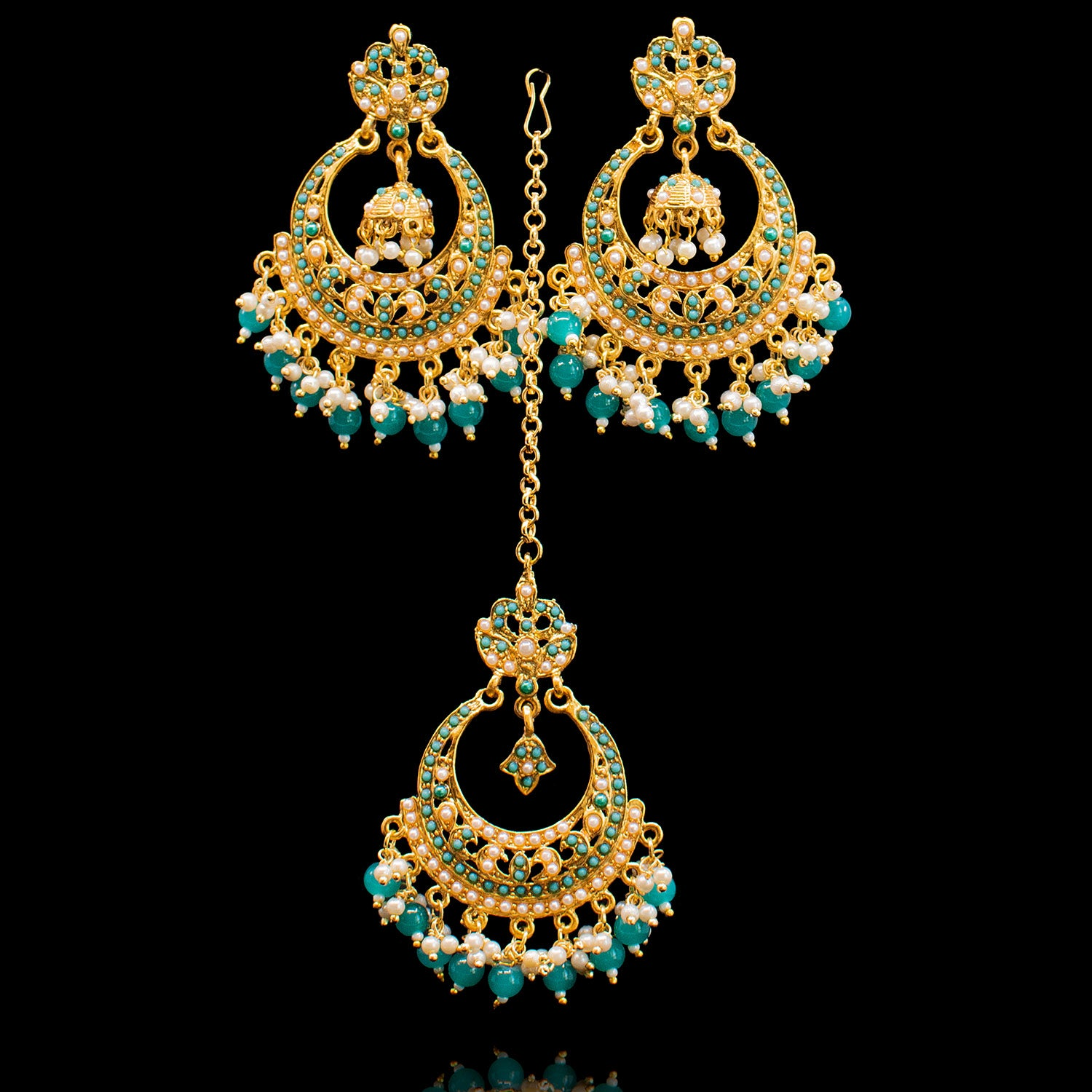 Aqsa Set - Teal