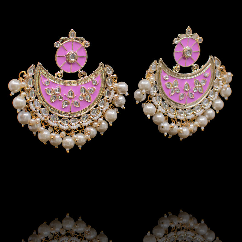 Semra Earrings - Pink