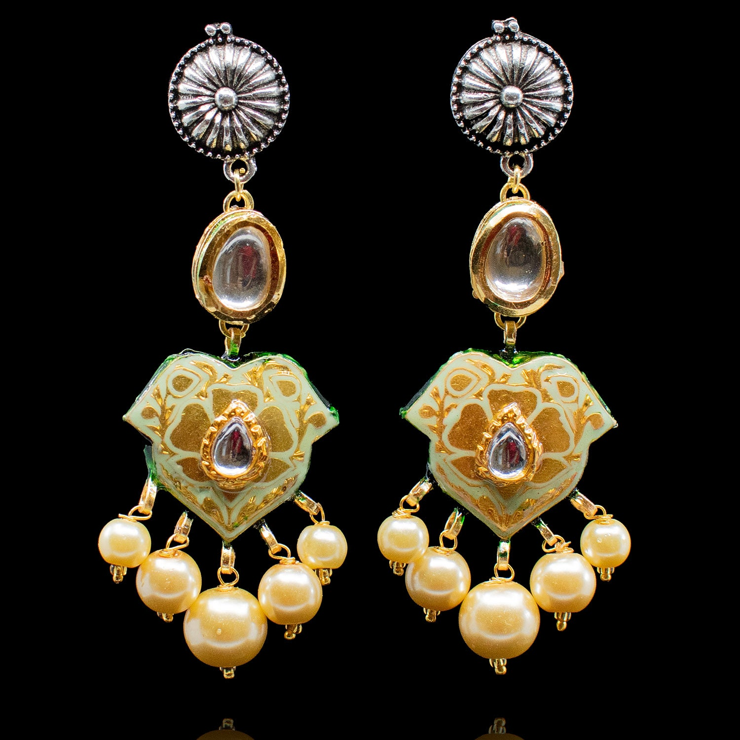 Shruti Earrings - Available in 3 Colors
