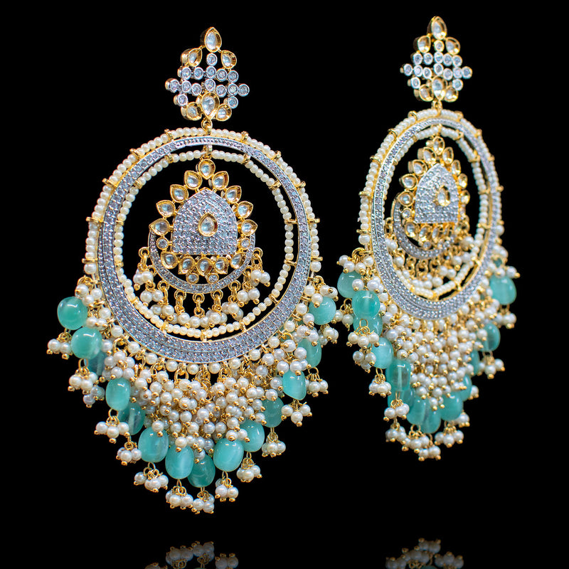 Feema Earrings - Turquoise