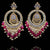 Feema Earrings - Ruby