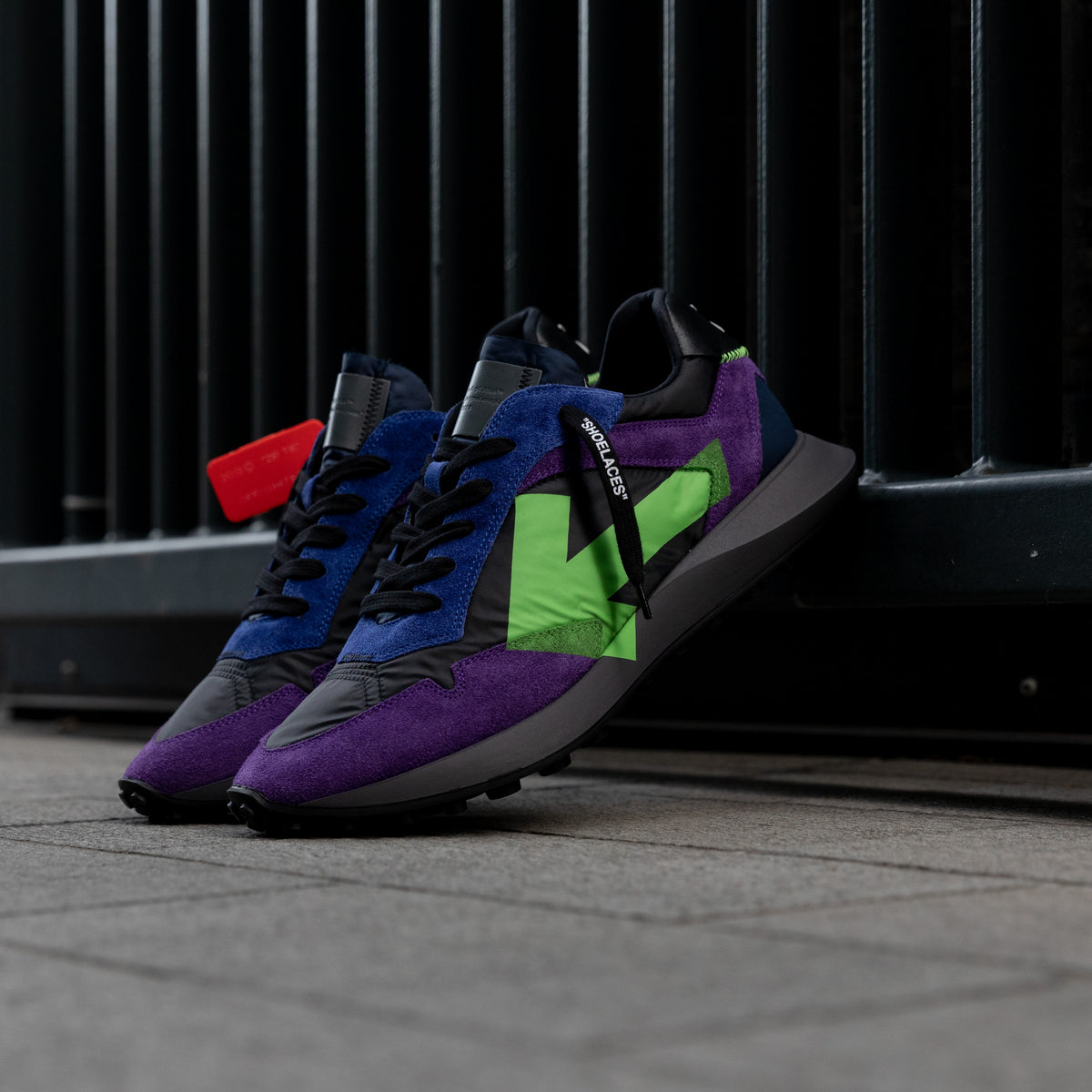 Everyday Sneakers - Violet / Green