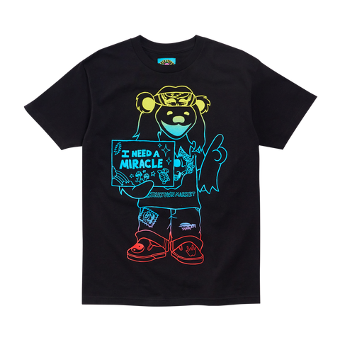 GD Miracle Hippie Gradient Tee - Black