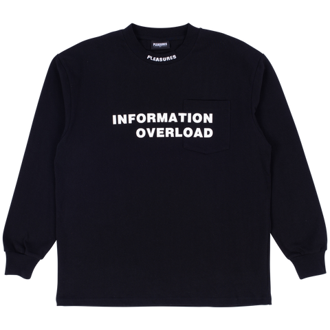 Information Heavyweight L/S T-Shirt - Black