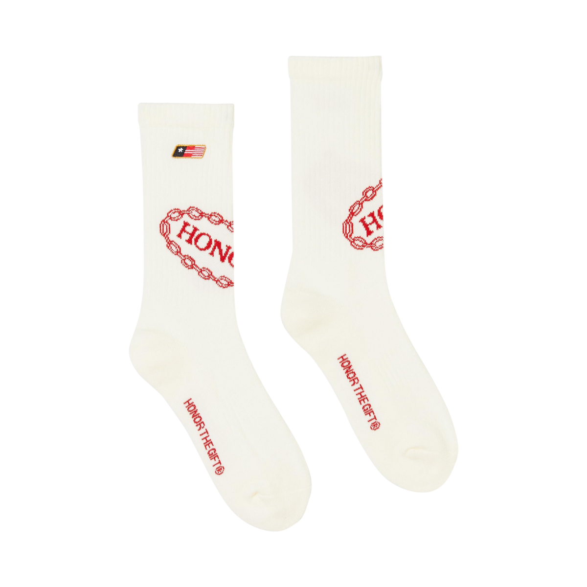 Auto Service Socks - Off White