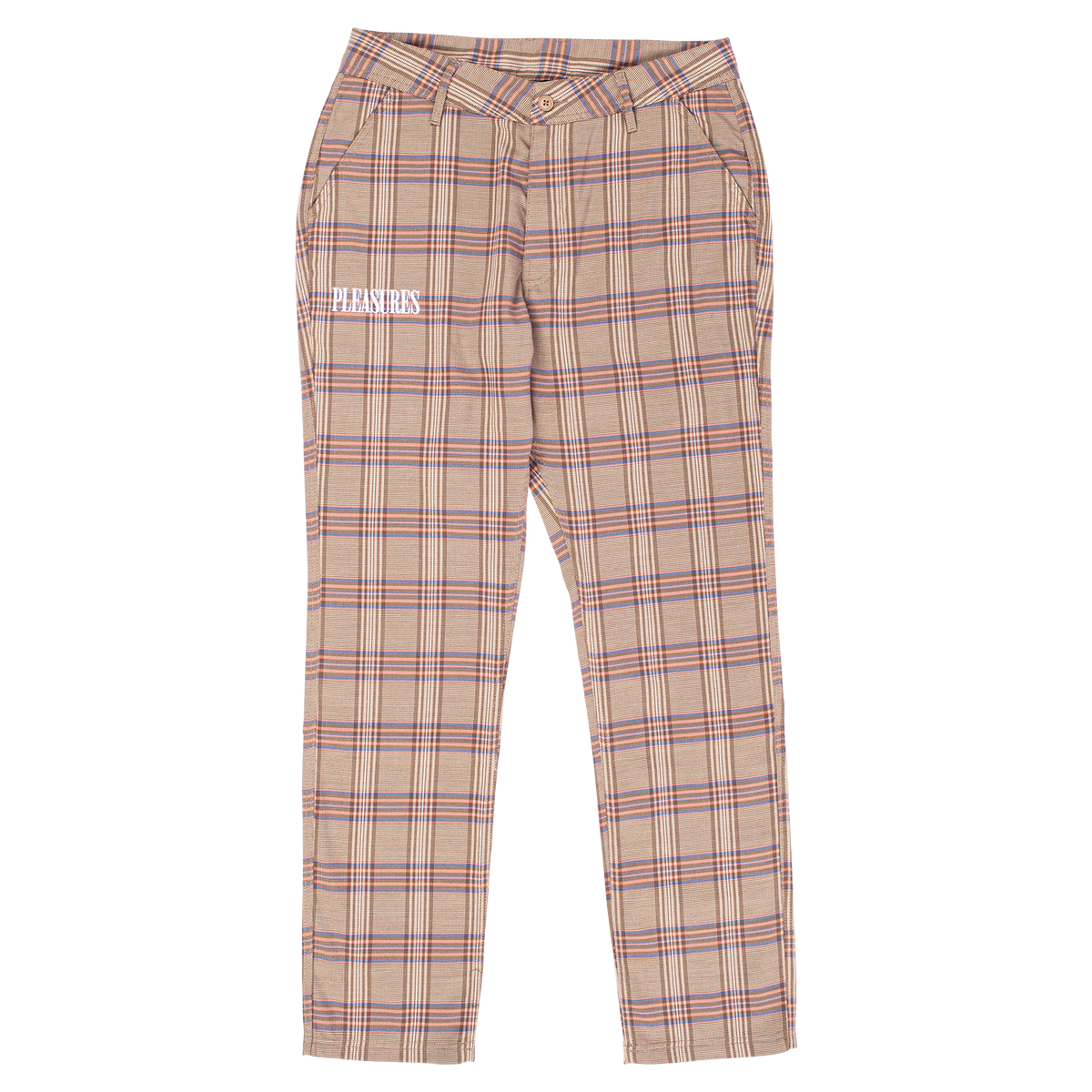 Orchestra Plaid Pant - Pink
