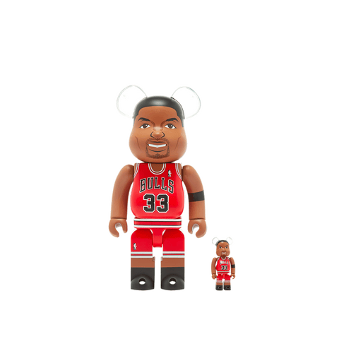 BE@RBRICK Scottie Pippen 100%+400% Set