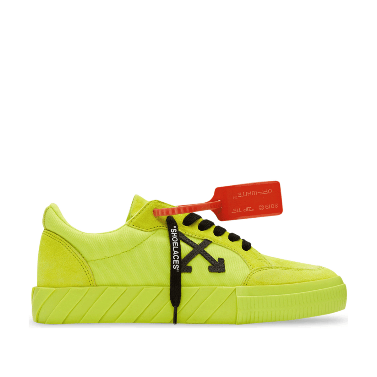 Low Vulcanized - Fluo Yellow / Black