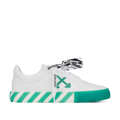Low Vulcanized - White / Green