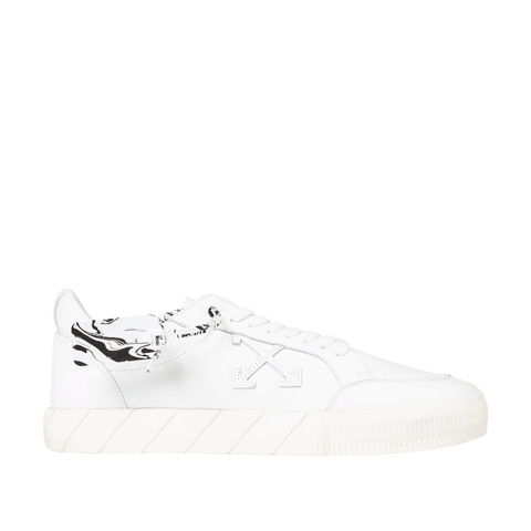 Low Vulcanized Leather - White