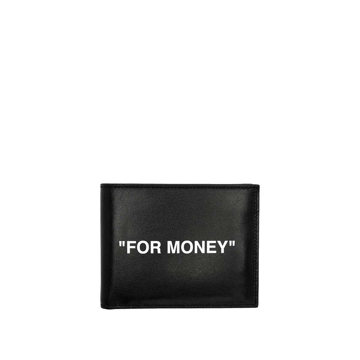 Quote Bifold Wallet - Black