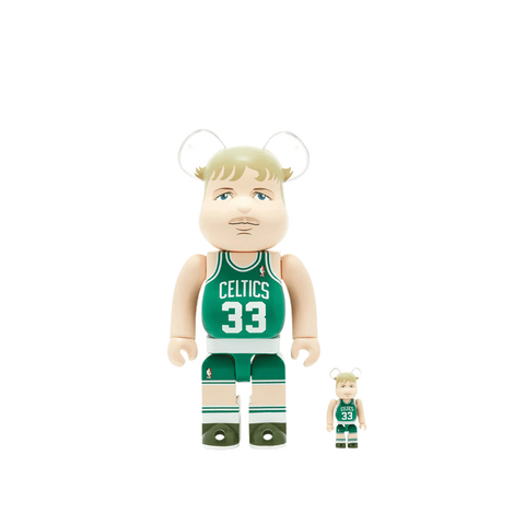 BE@RBRICK Larry Bird 100%+400% Set