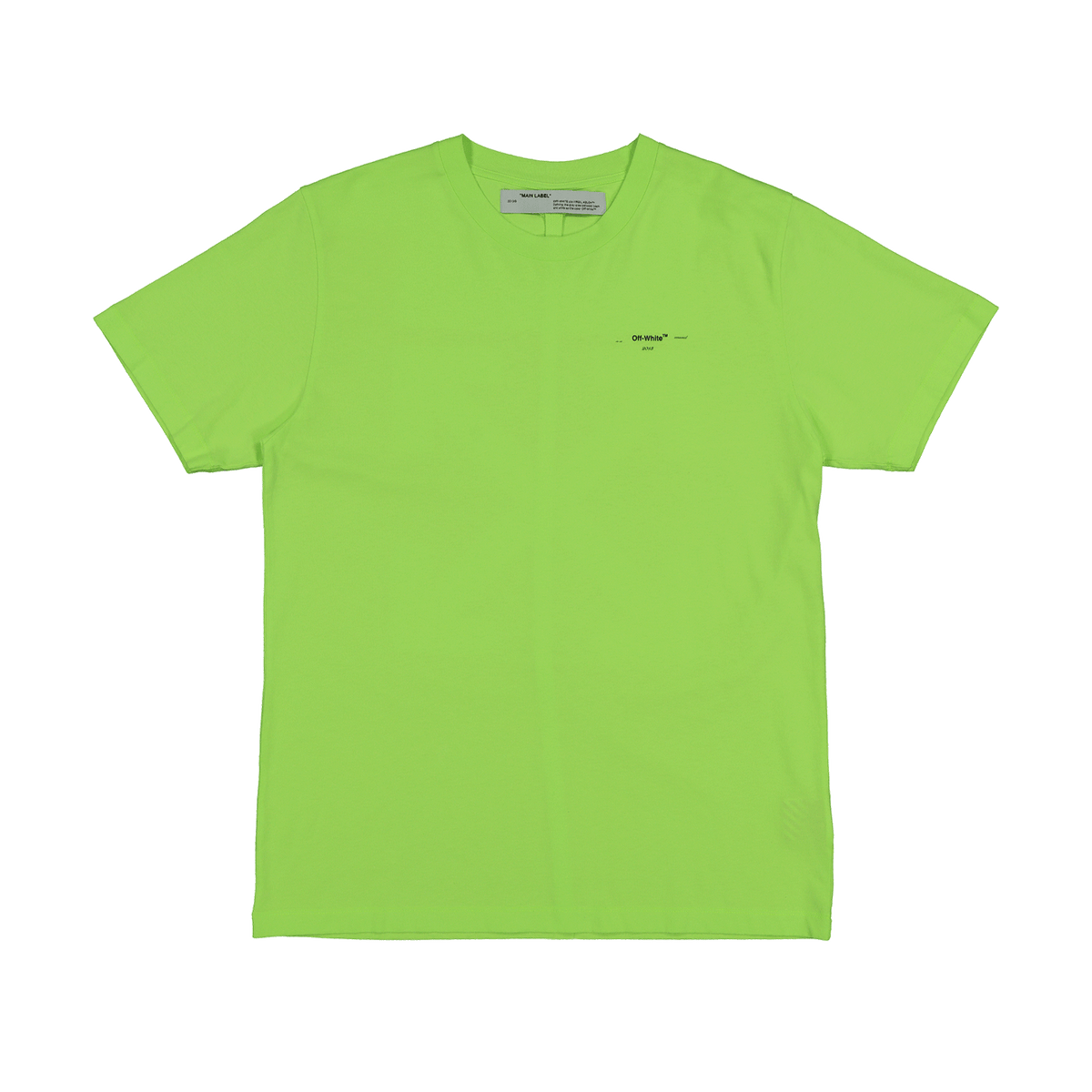 Arrow Logo S/S Slim T-Shirt - Fluo Yellow