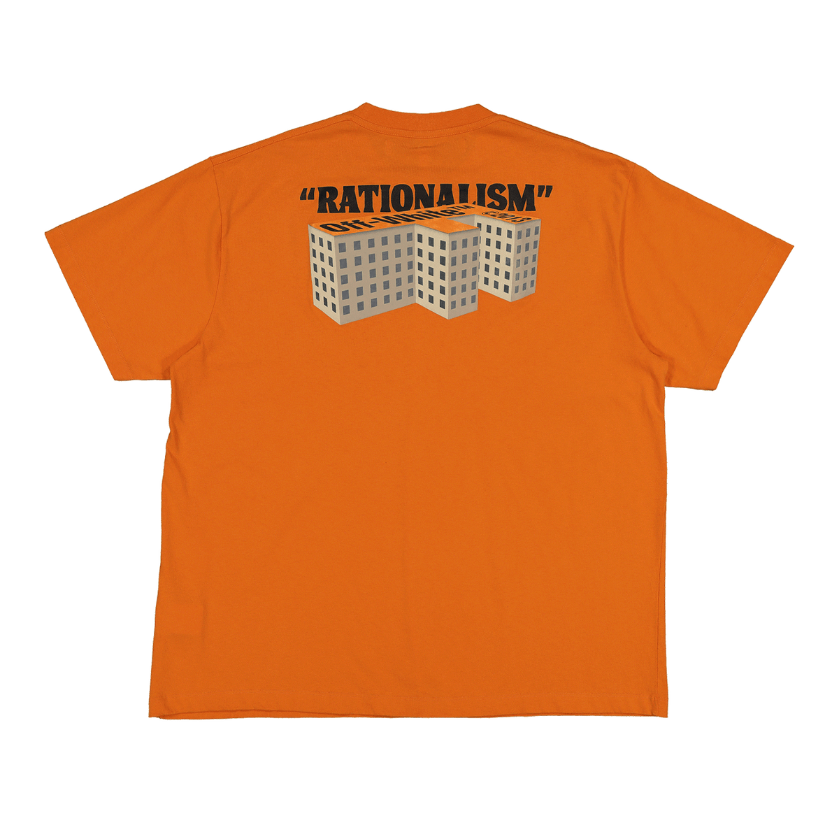 F Buildings S/S Over T-Shirt - Orange