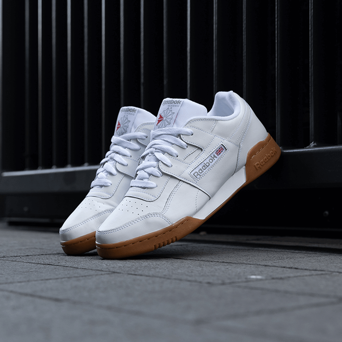 Workout Plus - White / Gum