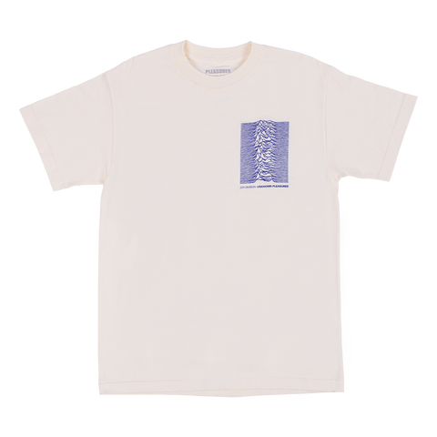 Unknown Pleasures T-Shirt - Creme