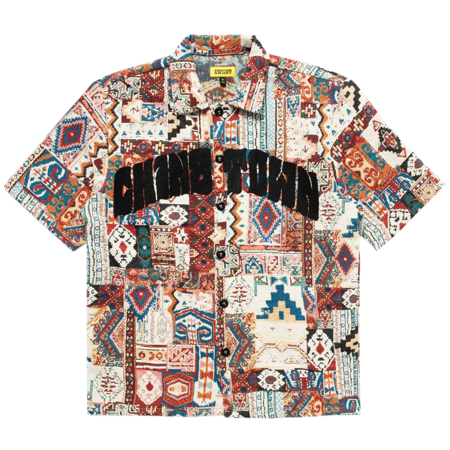 Patchwork SS Shirt - Multi