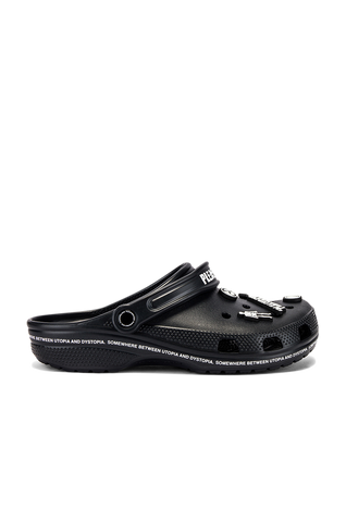 Utopia Crocs - Black