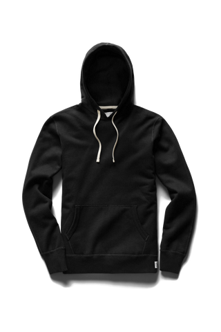 Mid-Weight Terry PO Hoodie - Black