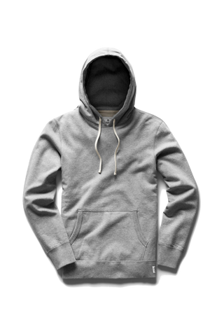 Mid-Weight Terry PO Hoodie - Grey
