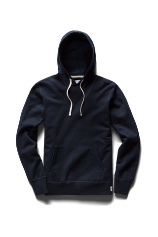 Mid-Weight Terry PO Hoodie - Navy