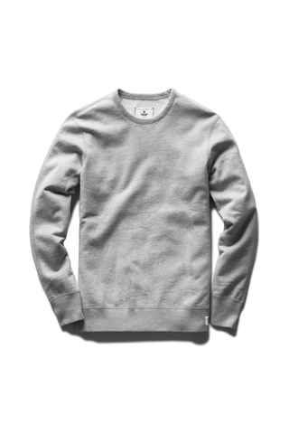 Mid-Weight Terry Crew Neck - Grey