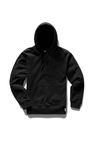 Relaxed PO Hoodie - Black