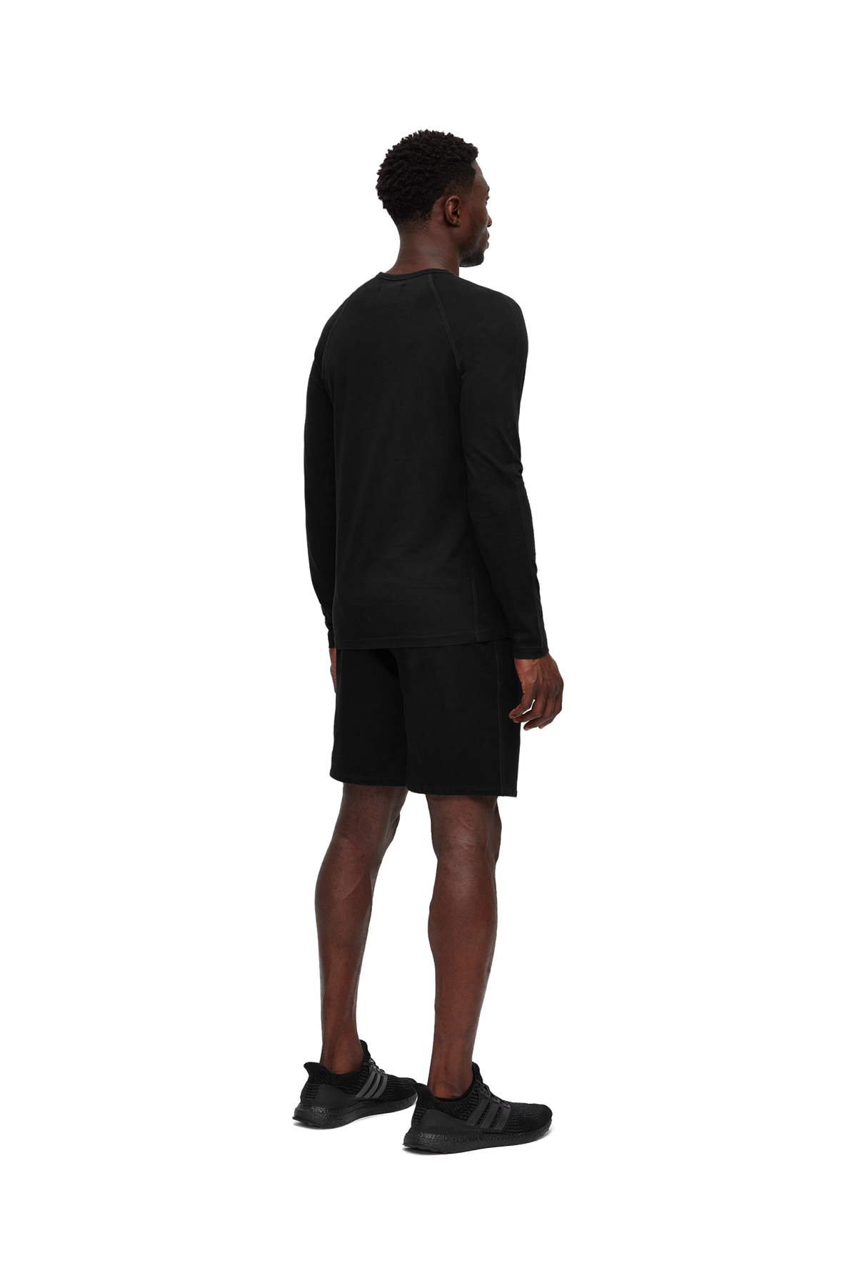 Mid-Weight Terry Sweatshort - Black