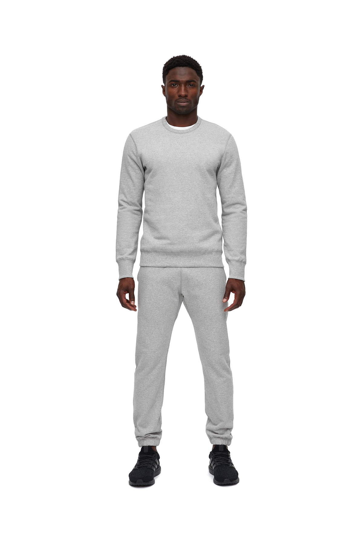 Cuffed Sweatpant - Grey
