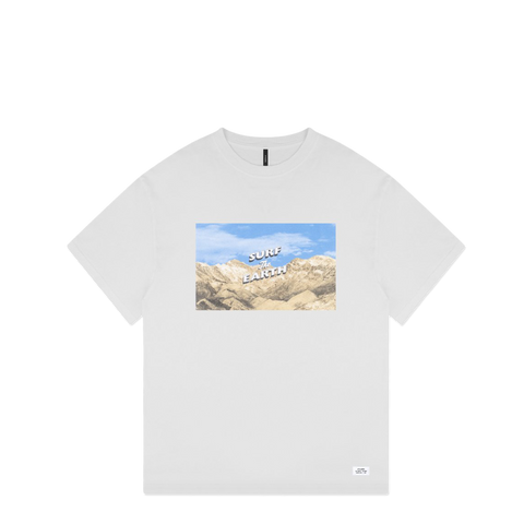 Surf The Earth T-Shirt - White