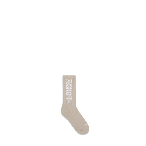 The F*** Off Socks - Beige