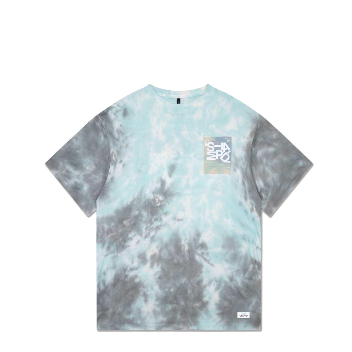 Tumble Tie Dye T-Shirt - Teal
