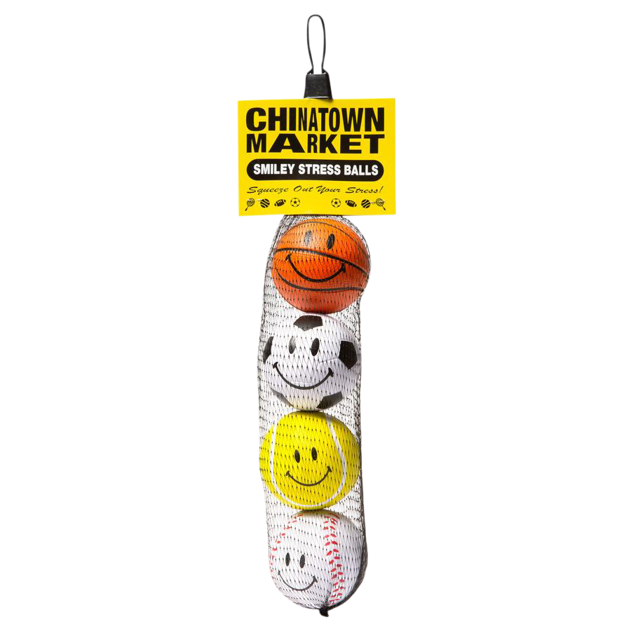 Smiley Stress Balls - 4 pack