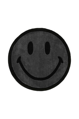 Smiley Rug - Black