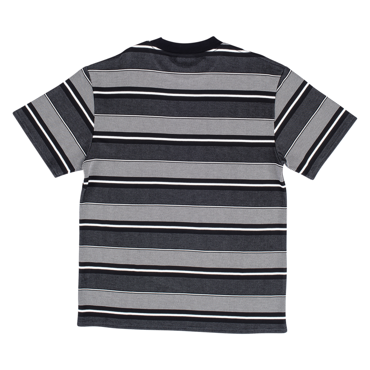 Flavors Striped Premium T-Shirt - Black