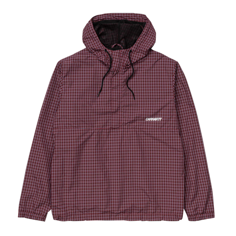 Alistair Pullover - Black / Red Check