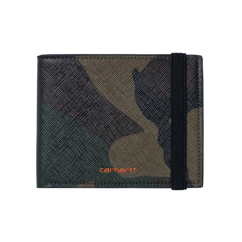 Coated Billfold Wallet - Camo