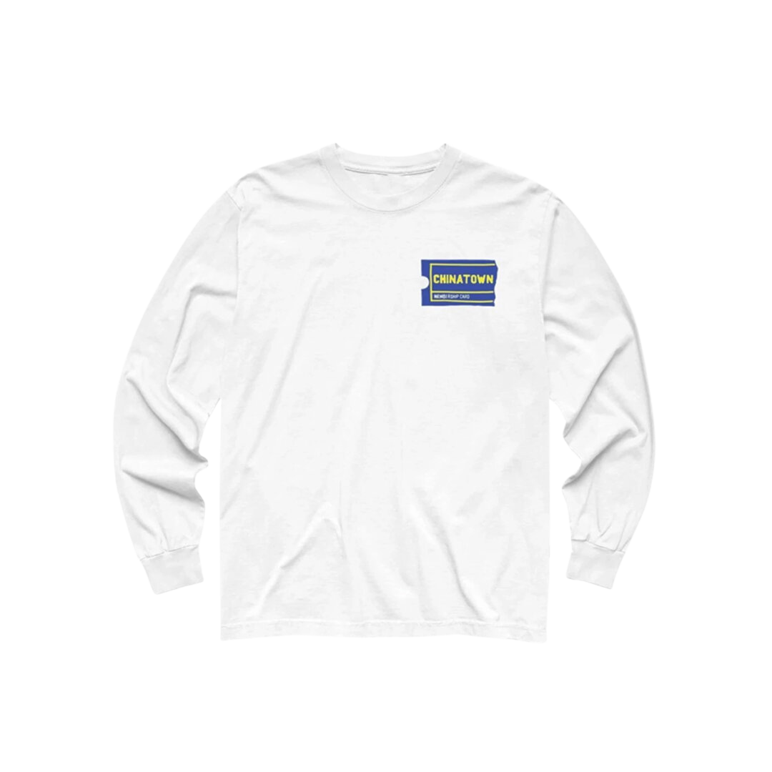 Membership LS T-Shirt - White