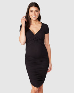 Bailey Crossover Nursing Dress