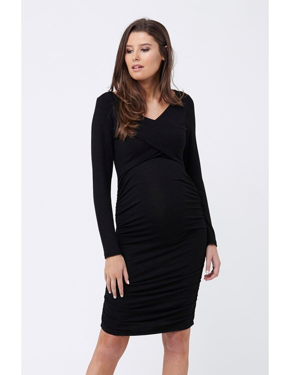 Cross Front Nursing Dress