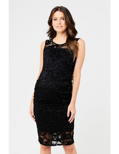 Eden Lace Dress - Black
