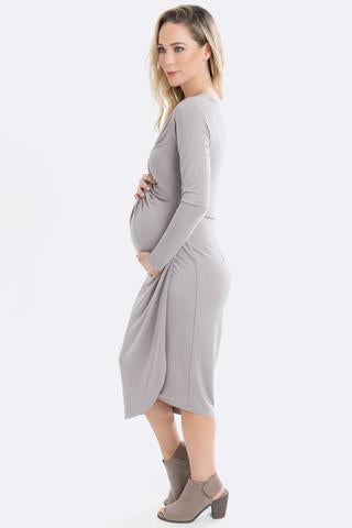 Knot Dress Long Sleeve