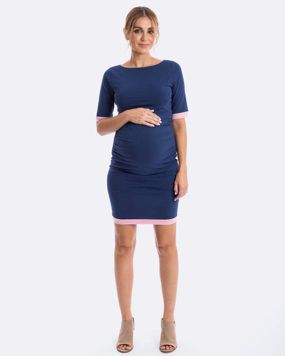 Classic Maive - Luella Navy Pink