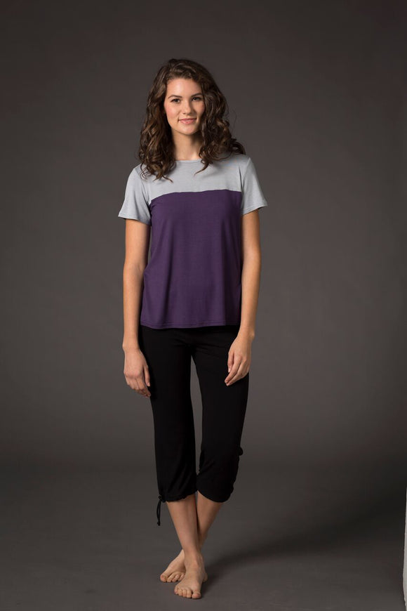 Two Tone Nursing Tee