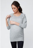 Lambswool Nursing Batwing Top