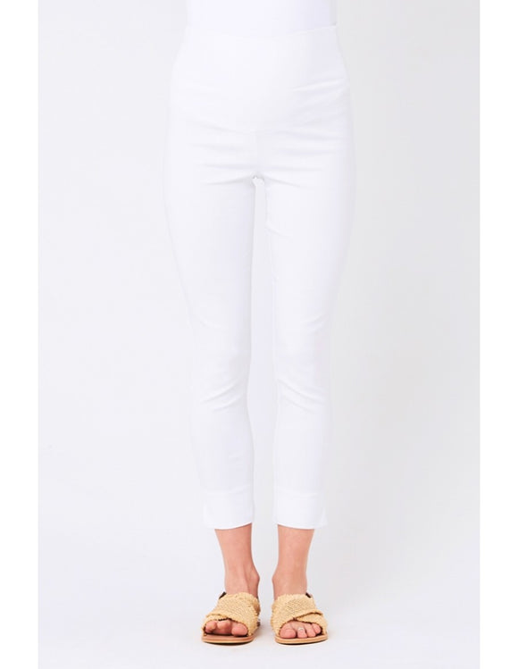 Suzie Capri Pants - White