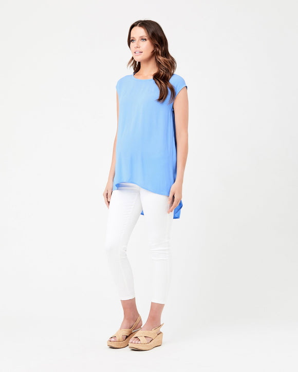 Carrie Top Sky Blue